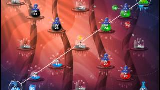 Jelly Go! Level 42 Jelly Go!: The jellies are at war! Capture all the enemy jelly buildings in each level to progress.