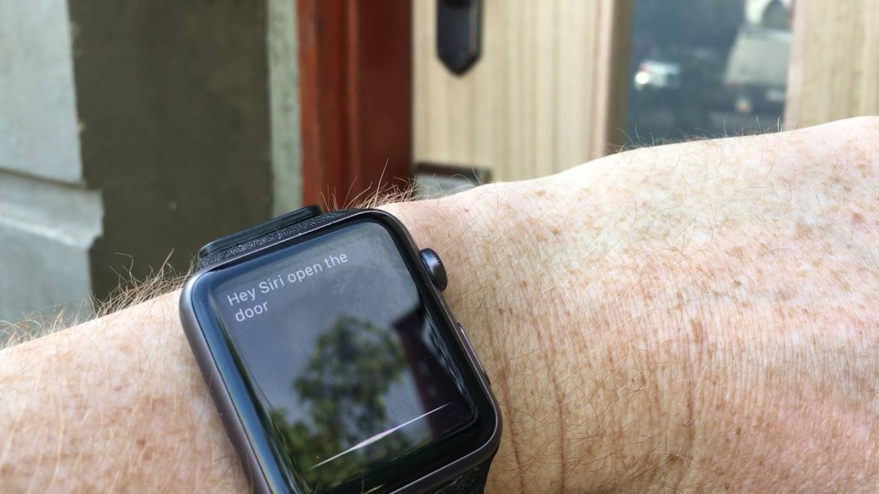 Schlage Sense Door Lock With Homekit Youtube
