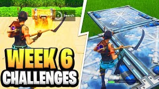 Fortnite Season 6 Week 6 Challenges GUIDE! How to Do Week 6 Challenges in Fortnite - Tutorial