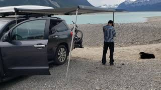 Thule HideAway Awning on a Toyota Sequoia