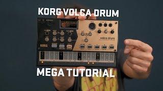 Korg Volca Drum Mega Tutorial
