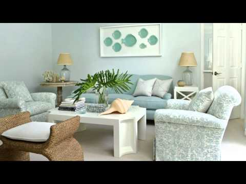 Beautiful Blue Florida Home | House Tour | Coastal Living