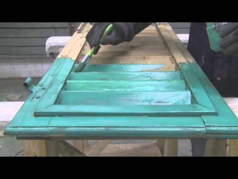 Come Restaurare Persiana In Legno Riparazione 2 4 Youtube