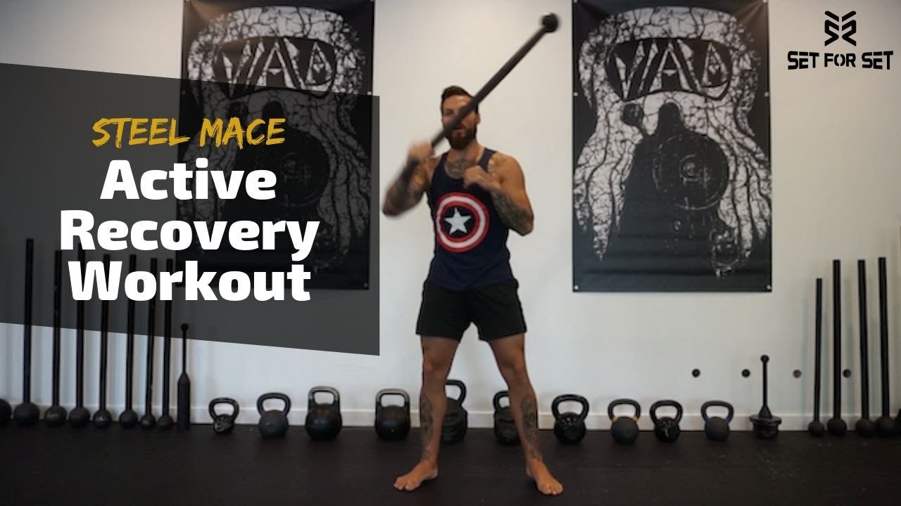 10LB Steel Mace Active Recovery Workout