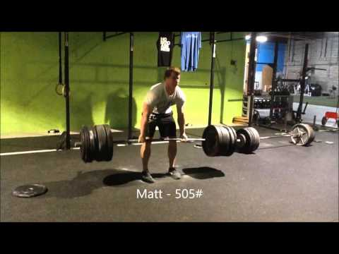 Mongrel Garage and Equity S & C: Max Out Deadlifts