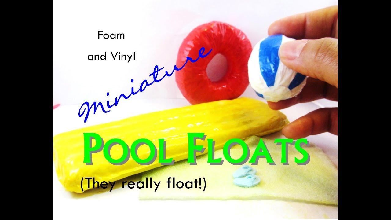 Working Diy Dollhouse Miniature Pool Or Beach Floats Beach Towel
