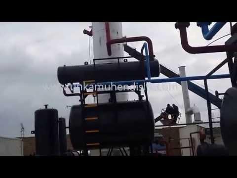 Crude Oil Refinery 2000 Barrels/Day - Afghanistan
