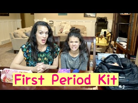 Period Kits & First Period Survival Kit | How To Tutorial