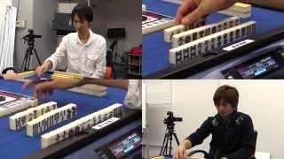 【麻雀】タッキーvsヒサト激突生バトル2013.12.10.OA