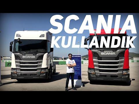 Scania Tır Kullandık & Makyajlı VW Golf Bir Tutam | VLOG
