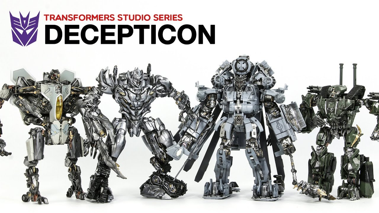 reputable site a7b8b 41c8c Transformers Movie Studio Series Decepticon Megatron Blackout Starscream  Brawl Vehicle Robot Toys
