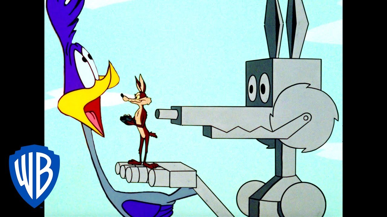 Looney Tunes | The Coyote Machine | Classic Cartoon | WB Kids