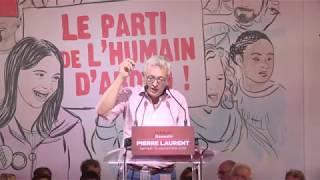 Discours de Pierre Laurent à la Fête de l'Huma 2018