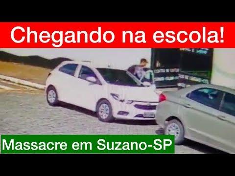 URGENTE! Veja os ASSASSINOS chegando na escola em Suzano SP!!!