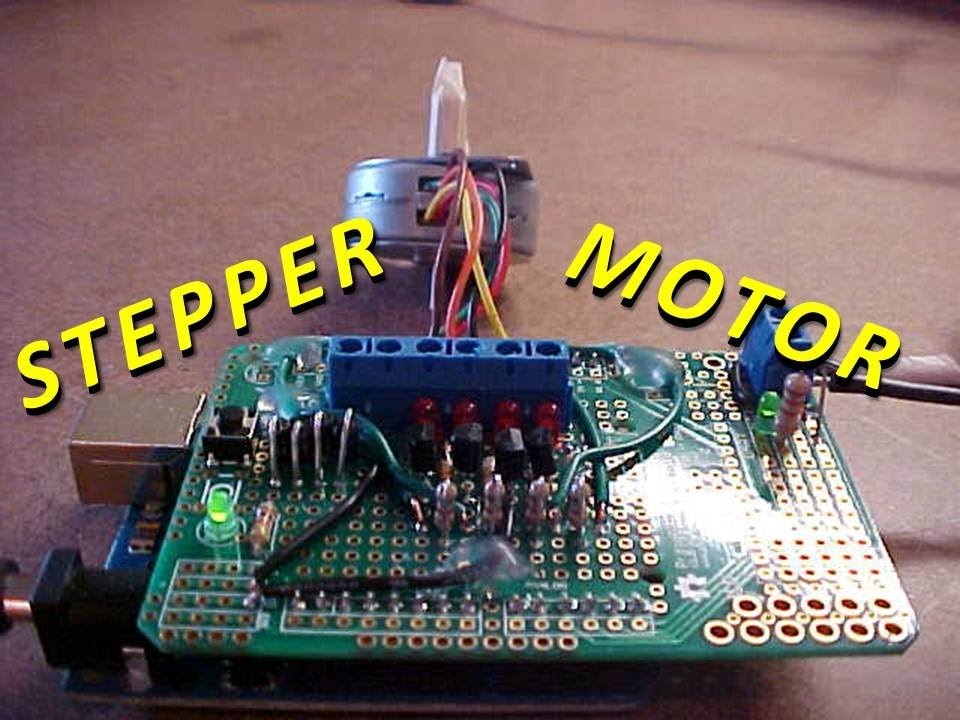 How To Control A Stepper Motor With An Arduino Uno -Use Arduino for