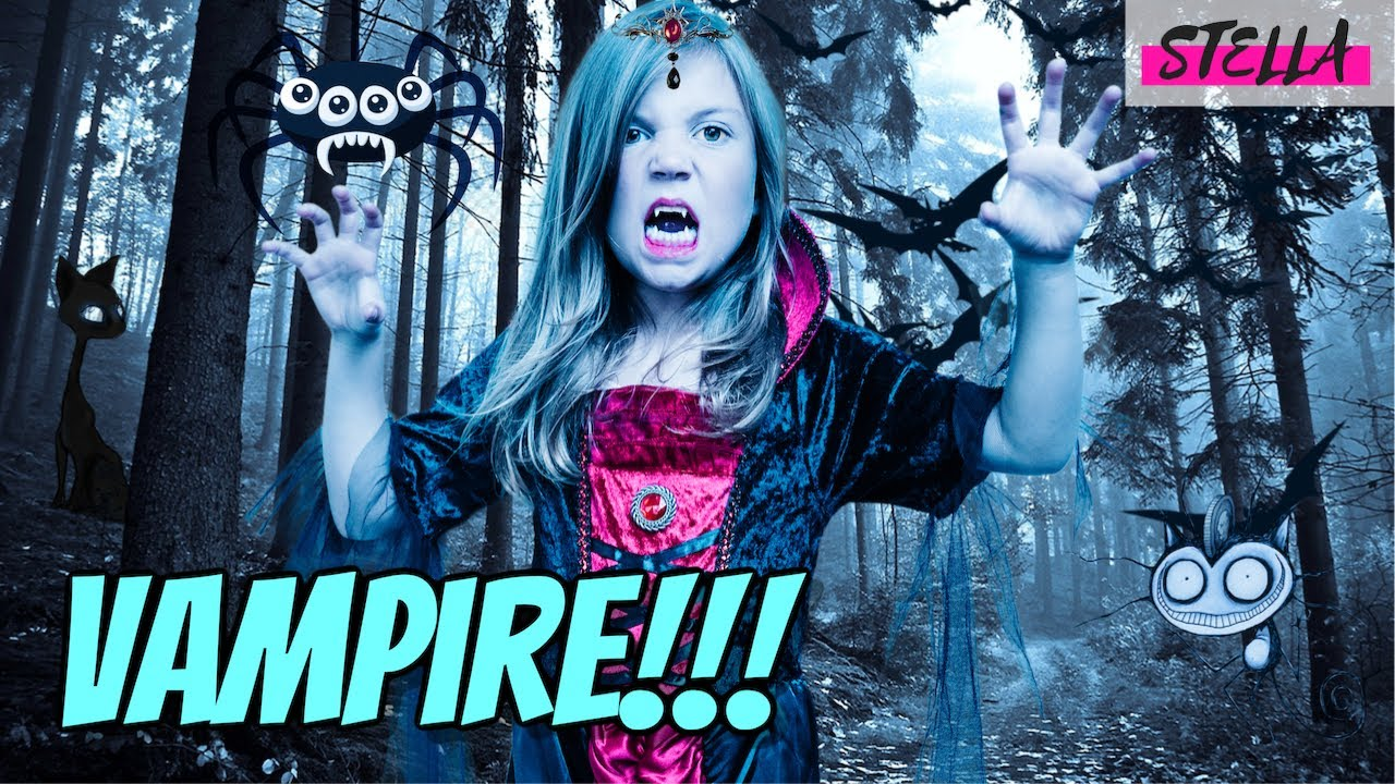Stella Becomes a VAMPIRE!!!