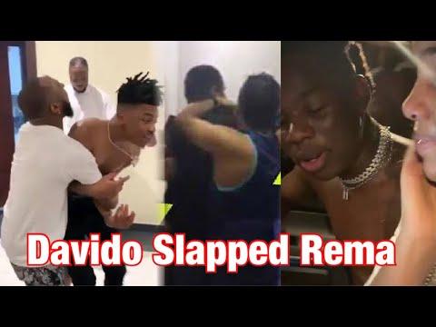 Download Rema Cries After Davido Slapped Rema Backstage At BBNaija 2020 Finale