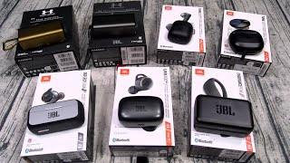 All The New JBL Truly Wireless Earbuds