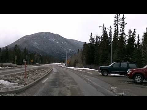 Hinton to Jasper on Yellowhead Highway 16, Alberta Time Lapse Drive