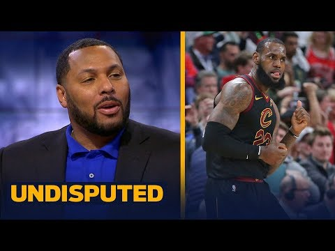 Eddie House on LeBron leading Cavs to 17-pt comeback win in the 4th against the Wizards   UNDISPUTED
