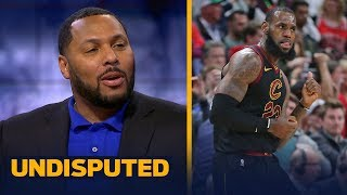 Eddie House on LeBron leading Cavs to 17-pt comeback win in th…