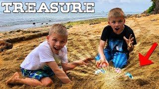 Surprise Hidden Beach Treasure -- FOUND!