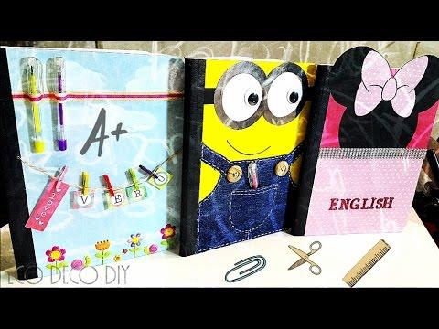 Vero vi 3 ideas para decorar tus cuadernos youtube - Ideas para decorar despacho abogados ...