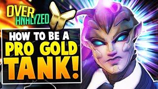 Overwatch Coaching - PŔO GOLD TANK! How To BEAT The META! [OverAnalzyed]