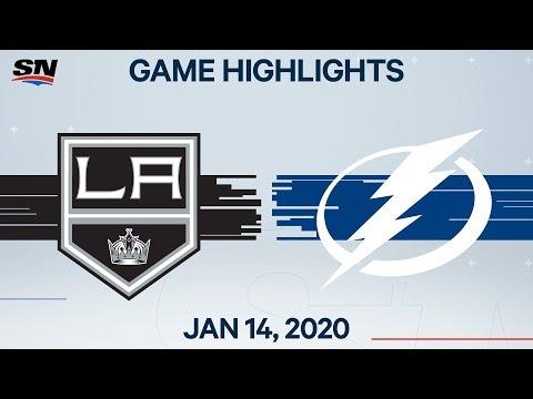 NHL Highlights   Kings vs Lightning – Jan. 14, 2020