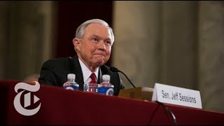 Attorney General Jeff Sessions Testifies Before Senate Committee (Full) | The New York Times Free HD Video