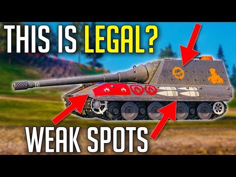 Weak Spot Skins • Is This Legal? ► World Of Tanks Mods