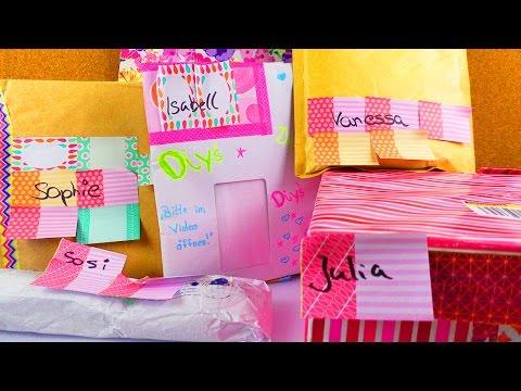 DANKE 💌 5 x Fanpost Unboxing | Super schöne Post & Überraschungen | DIYs & Briefe | Geschenke