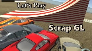 Let's Play: Scrap GL (3D Multiplayer Driving & Building Game)