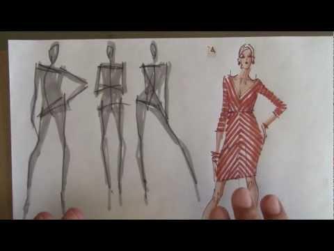 Learn Fashion Illustration from Yelen Ayé
