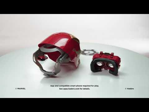 The Avengers - Iron Man - Mascara Hero Vison - YouTube