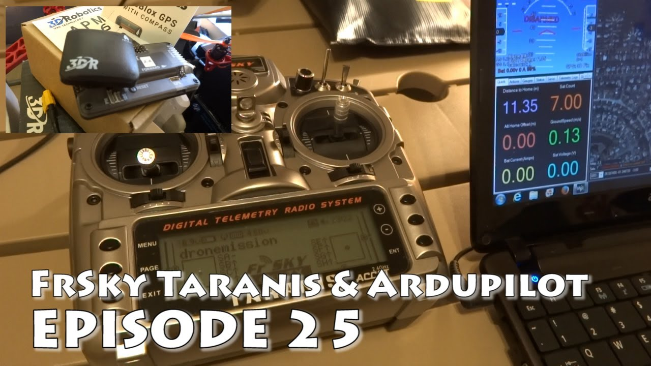 Mini-HowTo FrSky Taranis video tutorials - Getting Started