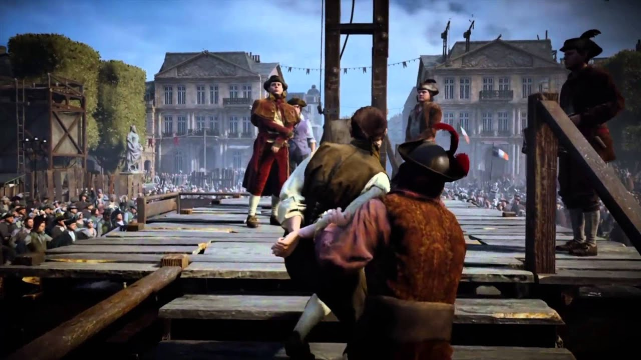 Assassin S Creed 174 Unity On Ps4 Dead Of Louis Xvi Youtube
