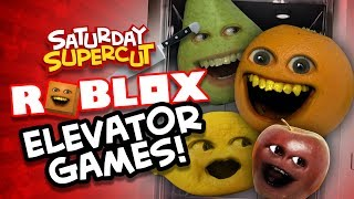 Roblox: ELEVATOR GAMES SUPERCUT! (Annoying Orange Normal Elevator, Scary Elevator, Etc)