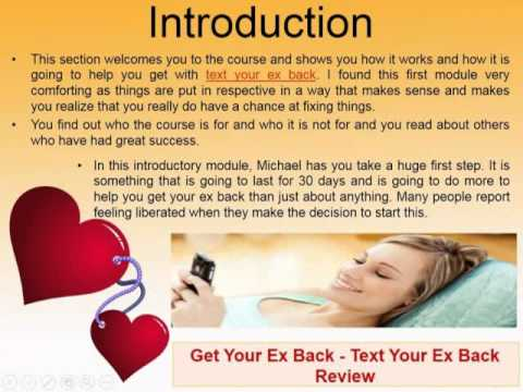 Text Your Ex Back Examples - Michael Fiore Texts