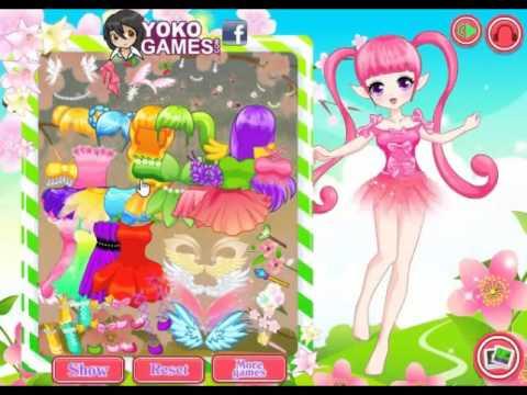 เกมแต่งตัวเจ้าหญิงแฟรี่ Manga Fairy