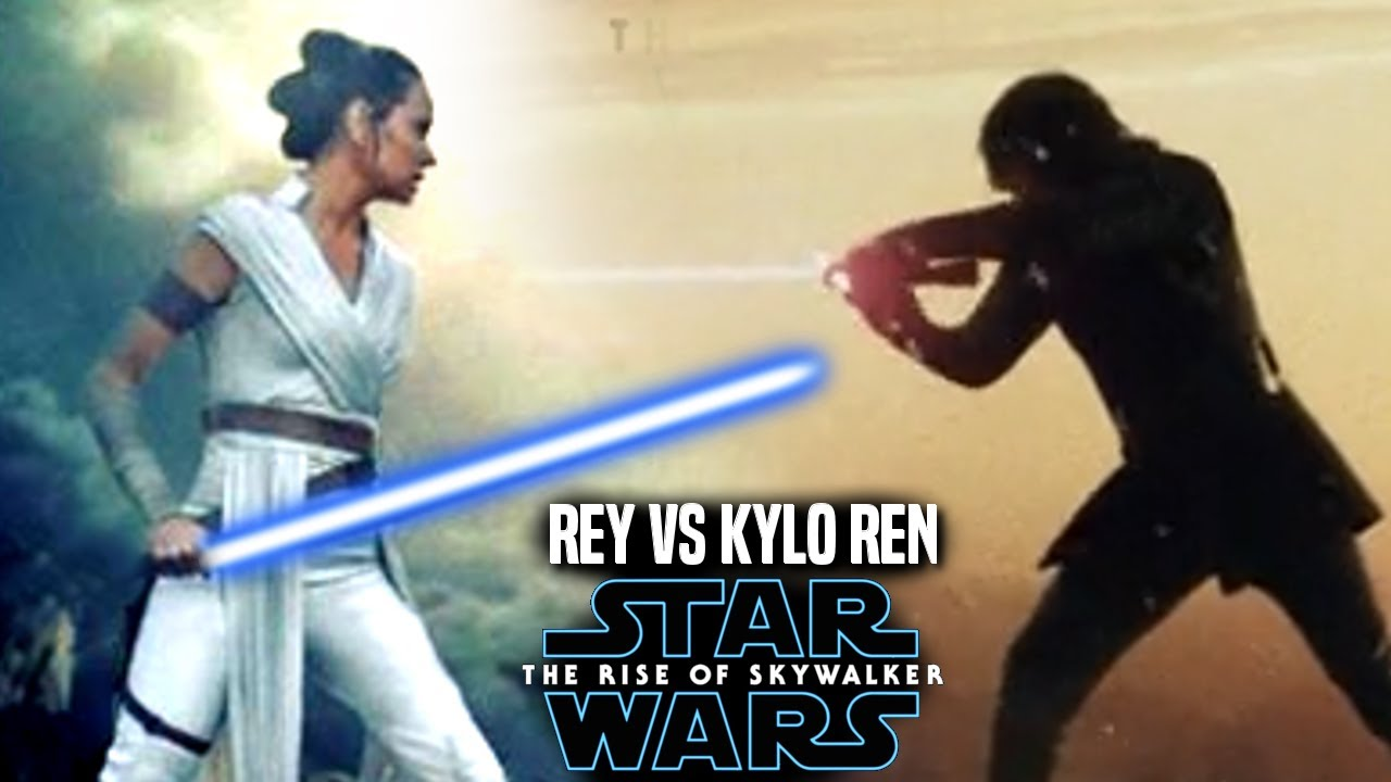 The Rise Of Skywalker Rey Kills Kylo Ren Leaked Hint Revealed Star Wars Episode 9 Youtube