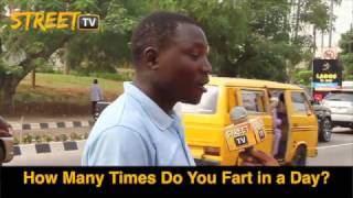 How many Times Do You Fart in a Day? See hilarious answers