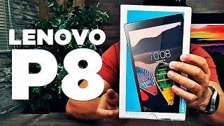 ÓTIMO PARA MULTIMÍDIA E BOM PREÇO, - UNBOXING  TABLET LENOVO P8