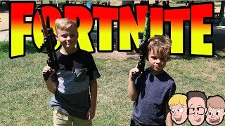 FORTNITE IN REAL LIFE? 😜 Birthday Challenges (Family Vlogs 2018)