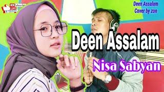 Deen Assalam - Nissa Sabyan | Agama Perdamaian (Cover by zon)