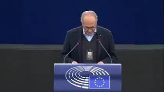 Intervento durante la Plenaria di Strasburgo dell'europarlamentare Paolo De Castro sul futuro delle relazioni  relazioni UE-USA.