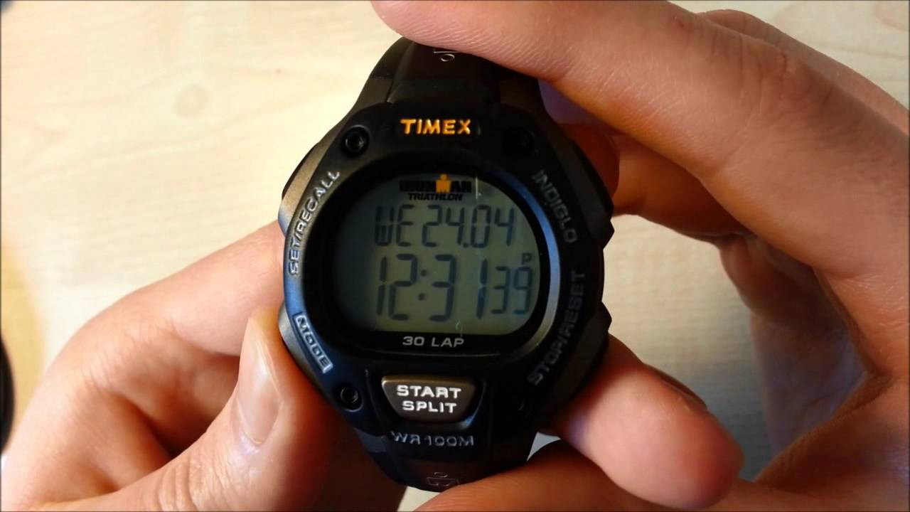 6de836d93b58 Timex Ironman Triathlon Watch REVIEW - YouTube