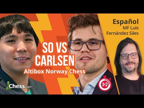 Ajedrez comentado: Wesley So vs Magnus Carlsen (Norway Chess 2017)