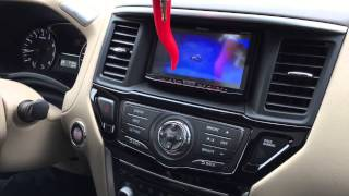 2014 Nissan Pathfinder Installed a Pioneer Apple Carplay Radio with Mirroring