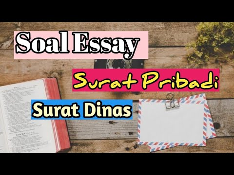 46++ Contoh soal essay surat dinas dan surat pribadi terbaru terbaik
